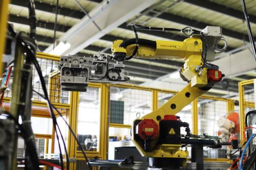 リークテストハンドリングロボット